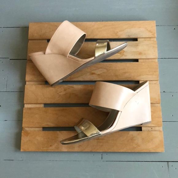 a.n.a Shoes - a.n.a. wedge sandals size 10